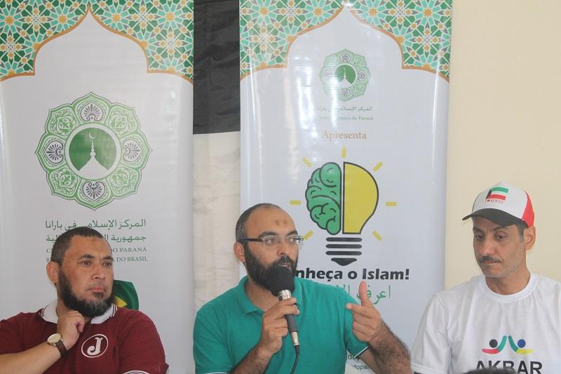 Photo of Sheikh Rodrigo Oliveira Rodrigues como Imam de Curitiba