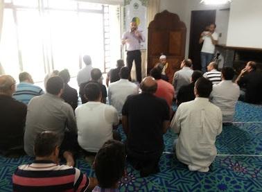 Photo of Primeira Oração na Nova Mesquita de Curitiba