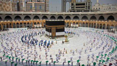Photo of O final da temporada do Hajj, sem casos registrados de Covid-19